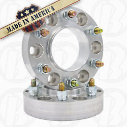 6x5 To 6x135 Custom Hub Centric Wheel Adapters 1.5 Thick Spacers   2pc Usa Made