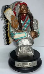 Peter Sedlow 1992 Limited Edition Fine Pewter Sitting Bull Hunkpapa Sioux 974
