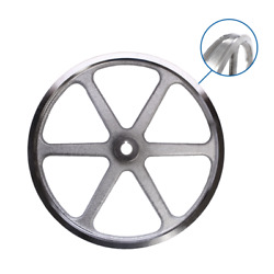 Lower Saw Wheel, Double Flange For 3334 Biro Meat Saws