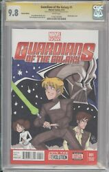 Star Wars Sketch - Guardians Of The Galaxy 1 Cgc 9.8 Signed By Val Hochberg