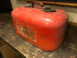 Evinrude Cruise A Day Vintage Fuel Tank 5 Gal Gallon Use Or Display
