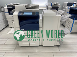 Xerox Workcentre 7845i Color Multi-function W/ Booklet Maker Low Meter 36k