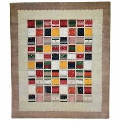 Barkat Rugs Hand-knotted Contemporary Design Handmade Size 8.0 X 10 Brral-6264