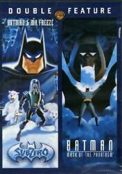 Double Feature Subzero Batman And Mr Freeze Mask Of The Phan - Very Good