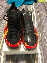 Nike Air Foamposite One Supreme Sp Red 100 Authentic
