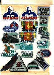 Huge Lot Of 31 Different Nice Flexco Coal Mining Stickers 965