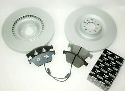 Bentley Continental Gt And Flying Spur Front Brake Pads And Rotors - Genuine