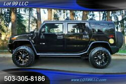 2008 Hummer H2  2008 Hummer H2  Luxury Package Lifted Navi 3rd Row Htd Leather 6.2l V8 Automatic