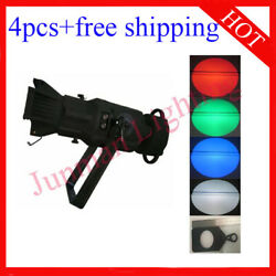 200w Rgbw 4 In 1 Led Imagine Spot Gobo Light With Gobo Holder 4pcs Free Shipping