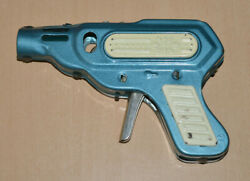 Space Gun Vintage Mechanical All Tin Toy Early After Ww Ii Very Rare