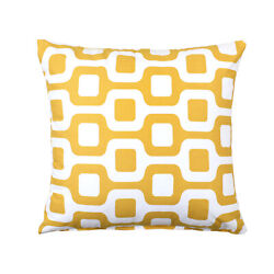 Mustard Yellow Decorative Cushion Throw Pillow Cover 20quot;x20quot;