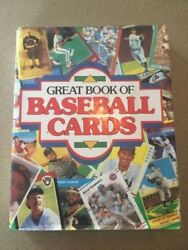 Great Book Of Baseball Cards,1989 Publications 452 Page Hardbound Like New Book