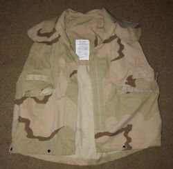 New Pasgt Vest Cover With Instructions - Size Small-medium Desert Camouflage