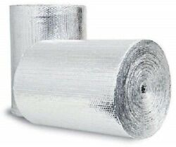 5000sqft 6ft Wide Reflective Insulation Heat Shield Thermal Insulation Poly 1/4