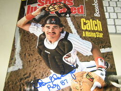 Psa Autographed Rookie Sports Illustrated Benito Santiago..hot Rare