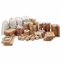 71 Pcs Cedar Blocks For Clothes Storage Closet Aromatic Anti Moth Pest Repellent