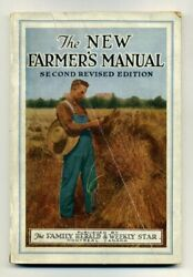 The New Farmers' Manual 1920s Montreal Family Herald And Weekly Star Farming