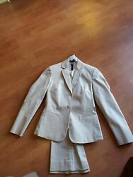 The Limited Stretch Size XS OatmealBeige  2pc Pant Suit New DISPLAY MODEL