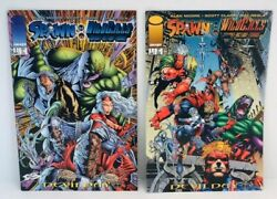 Spawn Wild C.a.t.s Image Covert Action Teams Issue 1 And 3 Comic Books