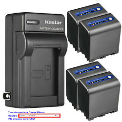 Kastar Battery Ac Wall Charger For Sony Np-qm91d And Sony Dcr-dvd200 Dcr-dvd201