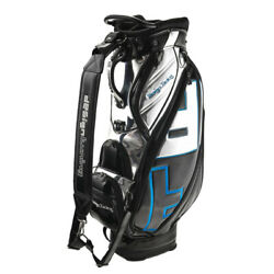 Design Tuning Mirror Finish TPU Made Cart Bag Black & Silver Color Model New