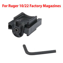 Ruger 10/22 Mag Holder/coupler/doubler For Oem Rotary 10 Rd Mags