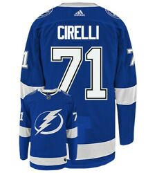 Anthony Cirelli Tampa Bay Lightning Adidas Authentic Home Nhl Jersey