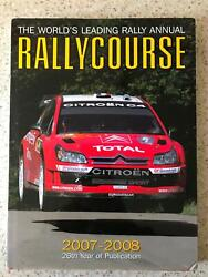 Rallycourse 2007/2008 Rally Annual Multi Signed Champion Loeb Gronholm + Others