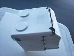"""Aircraft Or Car Battery Box.homebuilt Too.""""refurbished"""". Looks Almost Nw"""