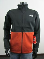 Mens Tnf The Apex Canyonwall Fz Softshell Windproof Jacket - Picante