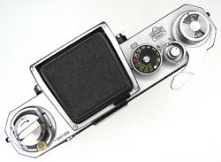Nikon F Red-dot 66 Body With Waist-level Finder 6601355 .......... Rare
