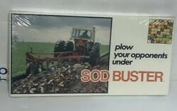 Sod Buster Vintage Board Game Rare Farming Santee Games Toy New Very Rare