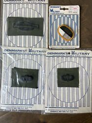 Vtg Lot Of Us Army Paratrooper Insignia Patch Oval Special Warefare Denmark's