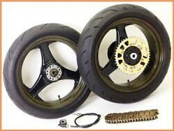 1993 Zephyr1100 Dymag Magnesium Spoke And Carbon Rim Wheel Front And Rear Set Yyy