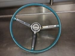 1967 Chevelle Original Steering Wheel Assembly With Horn Ring Camaro Impala