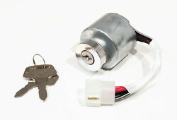 Ignition Switch With Keys For Kubota 6610155203, 6610155210 Lawn Mower Engines