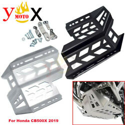 Lower Chassis Engine Guard Bottom Protection Skid Plate For Honda Cb500x 2019 20
