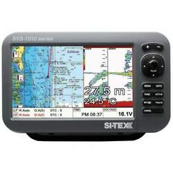 Si-tex 10 Chartplotter/sounder Combo With Internal Gps And Svs-1010cf