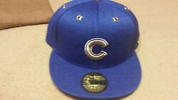 Chicago Cubs New Era 59FIFTY 2017 MLB All-Star Game No Patch Fitted Hat SZ 7 12