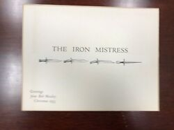 The Iron Mistress, Moseley 1953 Christmas Greeting By Carl Hertzog, As New