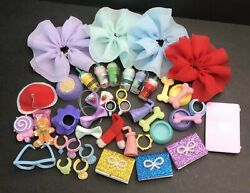Accessories Lot Random 7PCS Clothes Skirts Collars Food Drink Bow Laptop For LPS $6.63