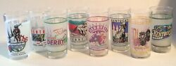 Kentucky Derby Glass-select From 199019911992 1993 1994 1995 And 1998