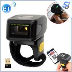 Mj-r30 Mini Barcode Scanner Ring 1d Portable Wearable Bluetooth Codes Reader