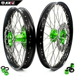 Kke 21/18 Dirtbike Enduro Wheels Rim Fit Kawasaki Kx250f Kx450f Kx125/250 2006