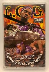 L.o.g. Camouflaged Down Cassette Brand New New Orleans Rap Nola - Ogp Southern