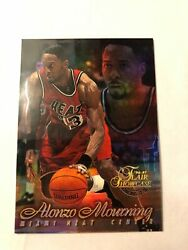Very Rare High Bv 8 Card Alonzo Mourning Rookie Lot-flair Showcase Finest Etc