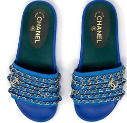 New Mules Slides With Gold Chain Sold Out In Stores