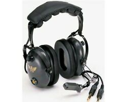 Avcomm Ac-454 Pnr Aviation Headset With Pust To Talk Switch