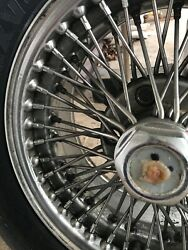 Wire Wheels And Michelin Tires