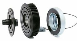 Ac Compressor Clutch Kit Coil Pulley Fits 2007 2008 Mazda Mazdaspeed3 Turbo